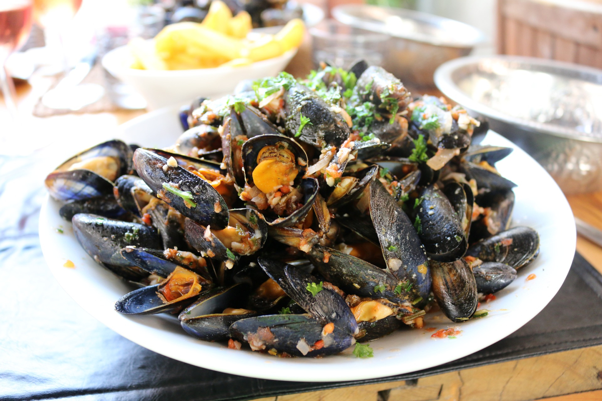 Morski plodovi kao namirnice bogate gvožđem